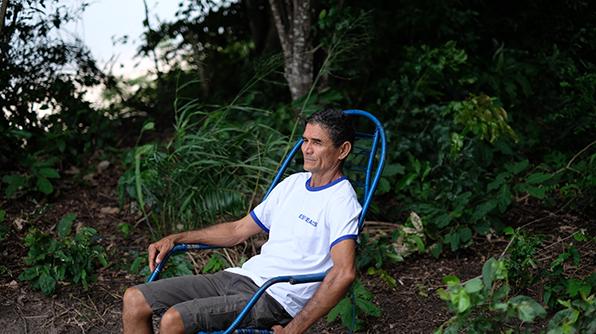 Djalma Moreira Lima trabalha há pouco mais de três décadas com o projeto Saúde e Alegria, no Pará