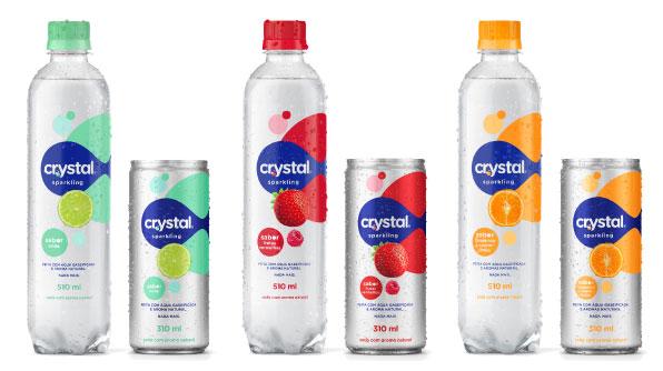 299efc609 Coca-Cola Brasil traz inovação e leveza com Crystal Sparkling  The Coca-Cola  Company