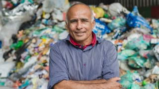 Domingos Pereira, reciclador